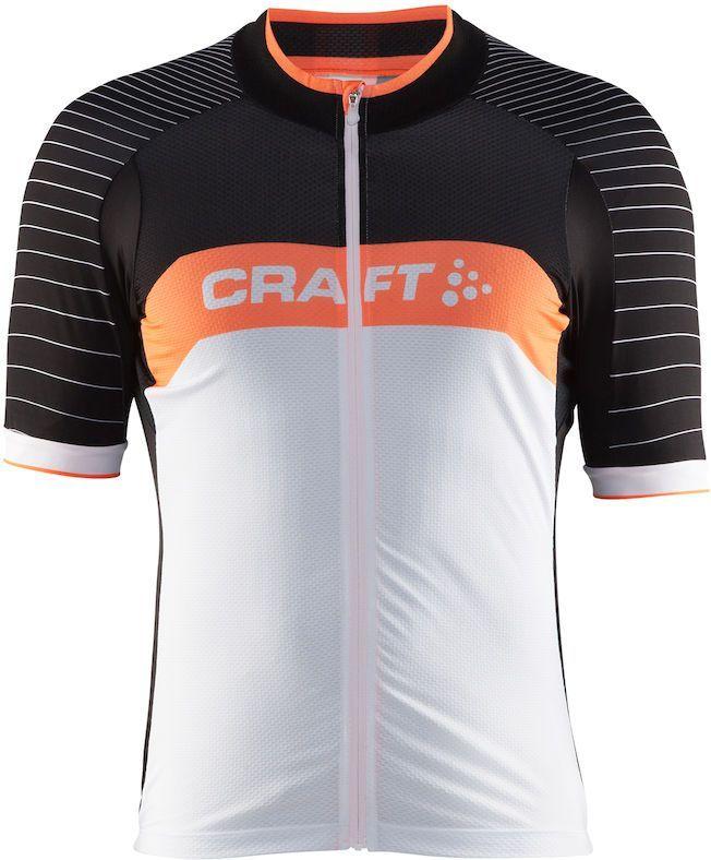 Футболка мужская для велоспорта Craft  Grand Fondo Bike , цвет: черный, белый. 1903989. Размер M - Велосипеды и аксессуары
