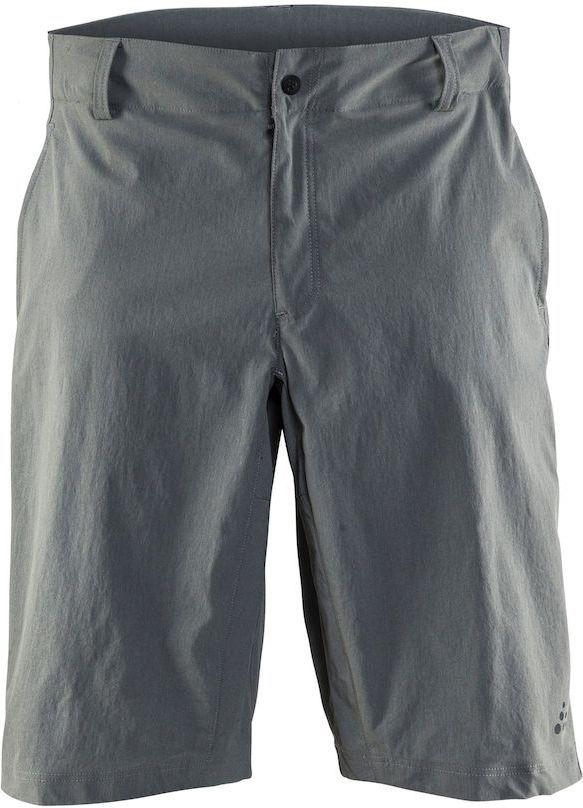 Шорты мужские для велоспорта Craft Ride, цвет: серый. 1905013. Размер XXLWRA523700Прочные, эластичные и удобные шорты со свободной посадкой для велоезды