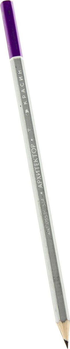 Красин Карандаш чернографитный Архитектор твердость H1071563Простые чернографитные карандаши - основа любого художественного начинания. Что бы вы ни делали - эскизы, рисунки, наброски - этот инструмент становится важнейшим и незаменимым помощником. Очень важно, чтобы грифель был качественным, не оставлял неряшливых и неопрятных следов, не пачкал руки и не ломался.