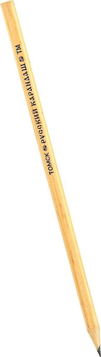 Русский карандаш Карандаш чернографитный Русский карандаш твердость HBC13S041944Карандаш чернографитный ТМ Русский карандаш прекрасное сочетание выгодной цены и высокого качества. Прочный стержень не крошится, а деревянный шестигранный корпус легко затачивается.Простые чернографитные карандаши — основа любого художественного начинания. Что бы вы ни делали — эскизы, рисунки, наброски, пометки — этот инструмент становится важнейшим и незаменимым помощником. Очень важно, чтобы грифель был качественным, не оставлял неряшливых и неопрятных следов, не пачкал руки и не ломался.