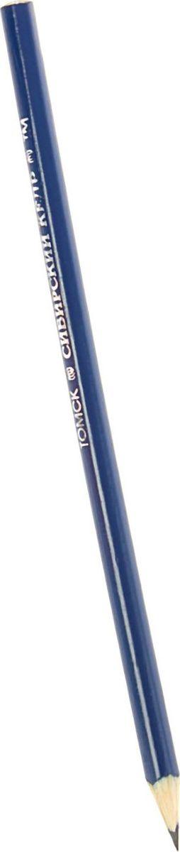 Сибирский Кедр Карандаш чернографитный Сибирский кедр цвет корпуса синий1573532