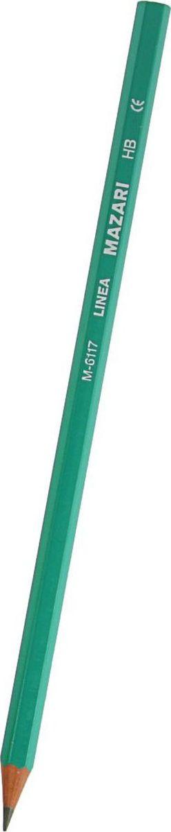 MAZARi Карандаш чернографитный Linea72523WDКарандаш чёрнографитный - прекрасное сочетание выгодной цены и высокого качества. Прочный стержень не крошится, а деревянный корпус легко затачивается.Простые чернографитные карандаши — основа любого художественного начинания. Что бы вы ни делали — эскизы, рисунки, наброски, пометки — этот инструмент становится важнейшим и незаменимым помощником. Очень важно, чтобы грифель был качественным, не оставлял неряшливых и неопрятных следов, не пачкал руки и не ломался.