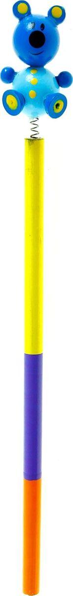 Карандаш МедвежонокCP_10762Веселые яркие карандаши с игрушками станут для ребенка верными помощниками в процессе обучения рисованию. Забавная зверушка, которая уселась на верхушке пишущего прибора, сделает учебу интереснее и веселее. А значит, малыш быстрее освоит новый навык. изготовлен из безопасного материала — натуральной древесины, покрытой нетоксичными красками, поэтому безопасен для здоровья ребенка.