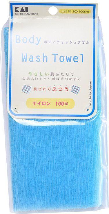 Kai мочалка для тела Body Wash Towel, средней жесткости, цвет: голубой5010777139655Мочалка средней жесткости деликатно воздействует на кожу и образует обильную пену в процессе использования. Светлые пастельные тона данной серии мочалок дарят позитивный настрой и хорошее настроение!