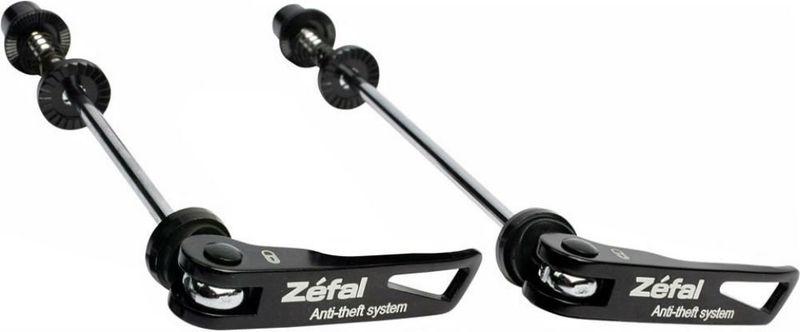 Велозамок эксцентрик Zefal Lockn Roll, на переднее и заднее колесо0720018001560Самый распространённый вид вело краж – это кража колёс, воры возьмут то, что легче всего снять. Для предотвращения подобного рода неприятностей, ZEFAL разработал эксцентрики Lock`n`Roll с замками, их можно расстегнуть, только перевернув велосипед вверх колёсами, что весьма затруднительно, если велосипед пристёгнут к столбу. Почти такие же по весу, как и обычные эксцентрики, Zefal Lockn Roll обязаны быть у каждого велосипедиста, который любит свой байк!ZEFAL – старейший французский производитель велосипедных аксессуаров премиального качества, основанный в 1880 году, является номером один на французском рынке велосипедных аксессуаров.• Длина эксцентриков: перед 5 х 128 мм, зад 5 х 163 мм.• Для любых QR втулок. • Надёжная защита колёс от кражи.