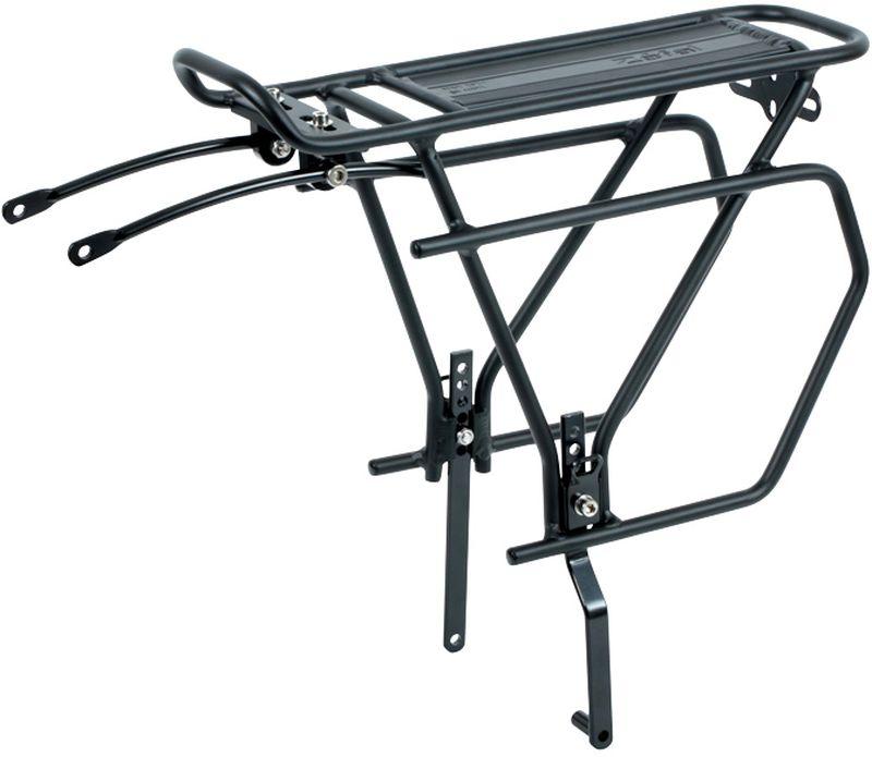 """Багажник велосипедный Zefal Raider R70, 26-29MHDR2G/AНадежный багажник из легкого алюминия поможет перевезти необходимые грузы весом до 25 кг. Конструкция багажника обеспечивает отличную поддержку боковых сумок и крепления крючков крепежных шнуров. Багажник имеет грузовую площадку размером 110 х 365 мм и место для крепления заднего светоотражателя. Zefal Raider R70 устанавливается только в стандартные места крепления на раме велосипеда и регулируется под все размеры колес: 26"""", 27.5"""", 28"""" и 29"""". ZEFAL – старейший французский производитель велосипедных аксессуаров премиального качества, основанный в 1880 году, является номером один на французском рынке велосипедных аксессуаров.• Подходит для размеров колес: 26"""", 27.5"""", 28""""(700с) и 29""""• Подходит к велосипедам со всеми видами тормозов, включая дисковые• Лёгкая конструкция из алюминия 6061 Т3• Вес багажника 1100 г.• Размер площадки 110 х 365 мм.• Максимальная нагрузка 25 кг."""