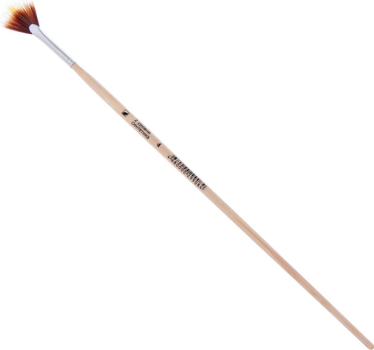Альбатрос Кисть Хобби из нейлона веерная № 4CS-MA4190100Художественная кисть Хобби изготовлена из синтетического материала с двухуровневой выставкой волоса разной плотности. Такая форма позволяет выполнять фигурные мазки, имитирующие разнообразную текстуру: дерево, траву, ткань и другие.Изделие имеет покрытую глянцевым лаком деревянную ручку и алюминиевую цельнотянутую обойму.Инструмент предназначен для создания растяжек и смягчения контрастов. Его можно использовать сухим — для затенения — и влажным — для создания эффекта испещрения полосками.Кисть Хобби поможет вам творить и вдохновит на создание новых шедевров!