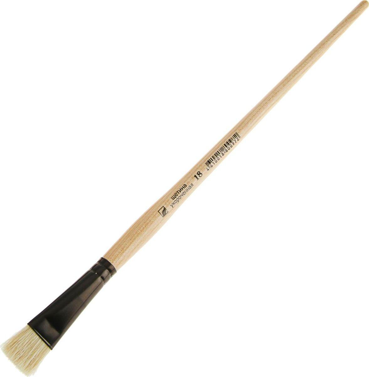 Альбатрос Кисть Хобби из нейлона плоская укороченная № 18PP-220Художественная кисть Хобби изготовлена из упругого синтетического волоса. Она имеет укороченную выставку щетинок и прекрасно подходит для плотных красок.Таким инструментом вам будет удобно делать короткие точные мазки.Имеет покрытую глянцевым лаком деревянную ручку и алюминиевую цельнотянутую обойму.Изделие поможет вам творить и вдохновит на создание новых шедевров!