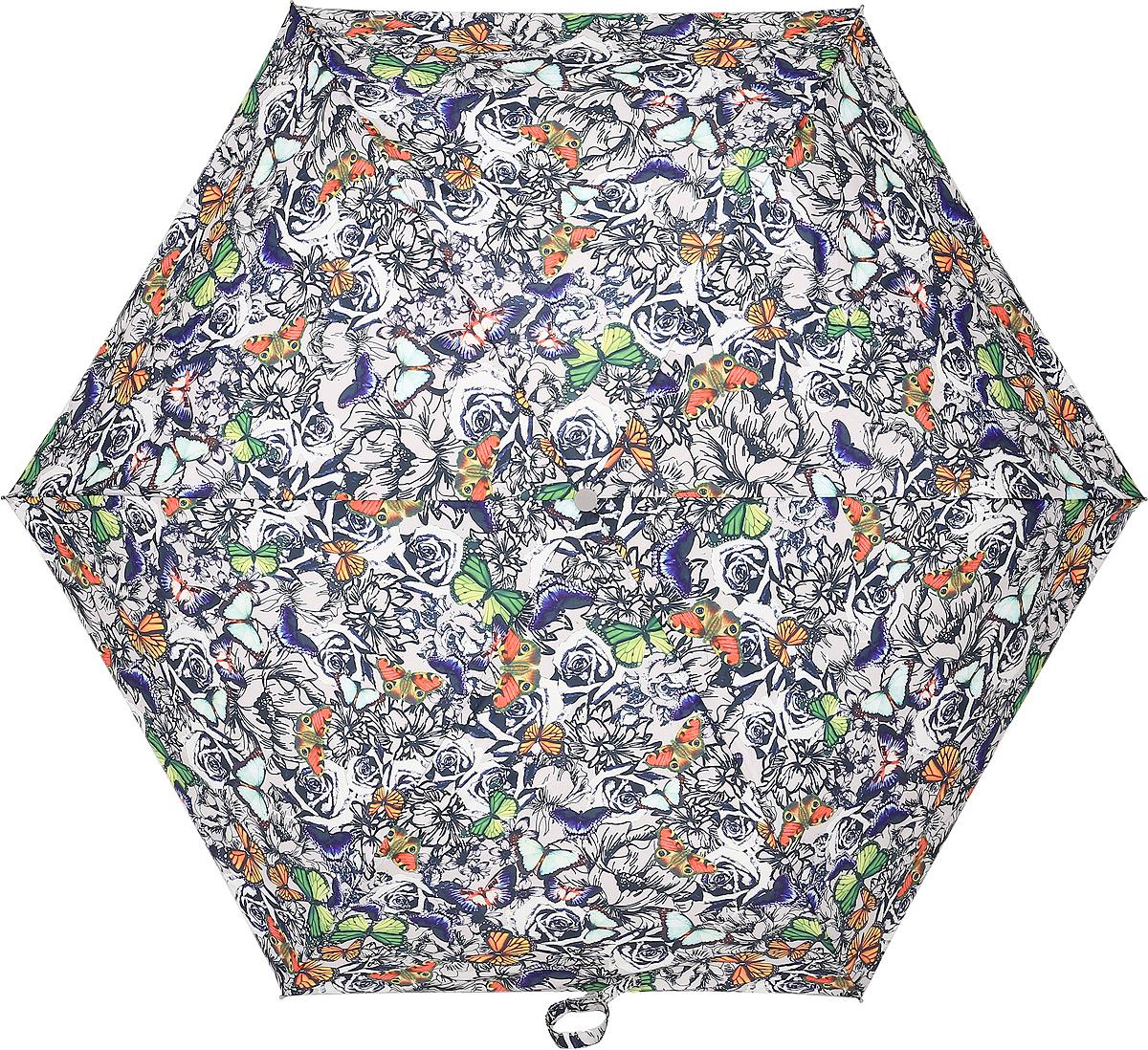 Зонт женский Fulton, механический, 3 сложения, цвет: мультиколор. L553-3285REM12-CAM-GREENBLACKСтильный механический зонт Fulton имеет 3 сложения, даже в ненастную погоду позволит вам оставаться стильной. Легкий, но в тоже время прочный алюминиевый каркас состоит из шестиспиц с элементами из фибергласса. Купол зонта выполнен из прочного полиэстера с водоотталкивающей пропиткой. Рукоятка закругленной формы, разработанная с учетом требований эргономики, выполнена из каучука. Зонт имеет механический способ сложения: и купол, и стержень открываются и закрываются вручную до характерного щелчка.