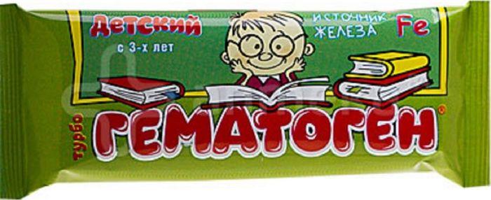 Гематоген Турбо, детский, 30 гWS 7064Гематоген Турбо - БАД, общеукрепляющий, противоанемический, дополнительный источник железа. Сфера применения: Витаминология.Товар сертифицирован.