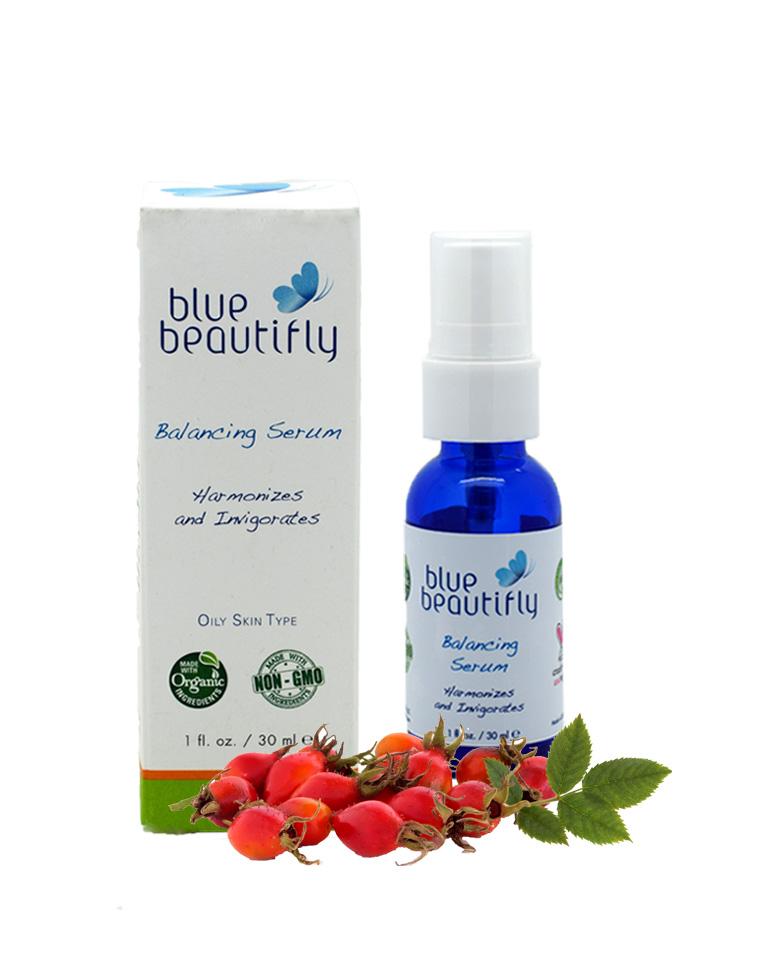 Blue Beautifly Балансирующая сыворотка для лица, 30млFS-00897Для жирной кожи. Корректирует выработку кожного сала и очищает поры, нормализует водный баланс и увлажняет кожу. Созданная на основе древней Аюрведы и китайской медицины Балансирующая сыворотка содержит растительные стволовые клетки дерева Ним, Шалфея, Лопуха, Шиповник и фруктовую смесь Трифала (Индийская ягоды Амалаки, Харитаки и Бибхитаки). Они очищают поры естественным путем. Восстанавливающие свойства Гиалуроновой кислоты и Алоэ Вера противодействуют старению и поддерживают естественное обновление кожи. Ароматерапевтическая смесь эфирных масел Апельсина, Лаванды, Туласи и чайного дерева Мелалеука сужает поры, уменьшает воспаления и тонизирует кожу лица.