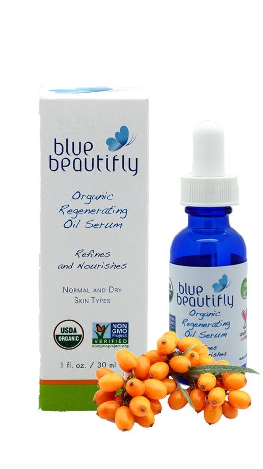 Blue Beautifly Органическая восстанавливающая сыворотка для лица, 30 млFS-54114Для нормальной и сухой кожи. Мощный органический комплекс борется с внешними признаками старения, ускоряет естественный процесс регенерации кожи. Сочетание органических масел и цветочных стволовых клеток поддерживает естественную функцию липидного барьера вашей кожи и удерживает влагу. Экстракты лепестков цветов Бессмертника, Календулы, Ромашки и Лаванды обладают мощными успокаивающим и противовоспалительным свойствами, а органические масла: Облепихи, Граната, Таману, черного Тмина, Арганы, Жожоба, семян Камелии, Кокосовое и Оливковое масла восстановливают естественное сияние кожи, увеличивают выработку коллагена и борятся с пигментными пятнами и морщинами. Ароматерапевтическая смесь Мандарина, Лаванды, Иланг-Иланга, Жасмина и эфирного масла цветов Апельсина восстанавливает кожу и поднимает настроение. При непрерывном использовании кожа обретает здоровый, увлажненный и сияющий вид. USDA сертифицированный органический продукт.