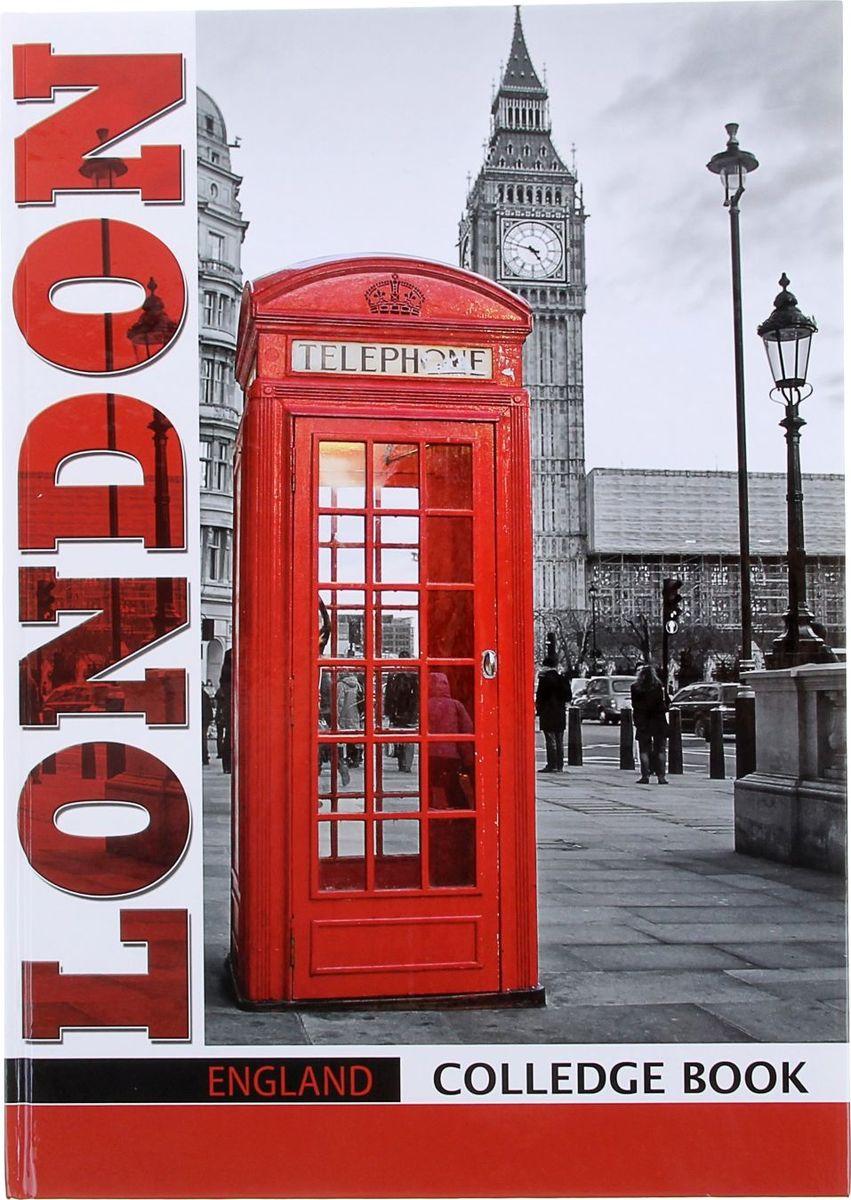 Бриз Тетрадь Лондон 80 листов в клетку1067684Тетрадь Бриз Лондон в твердой обложке формата A4 отлично подойдет для различных записей. Обложка выполнена из прочного картона. Внутренний блок состоит из 80 листов в голубую клетку с полями.