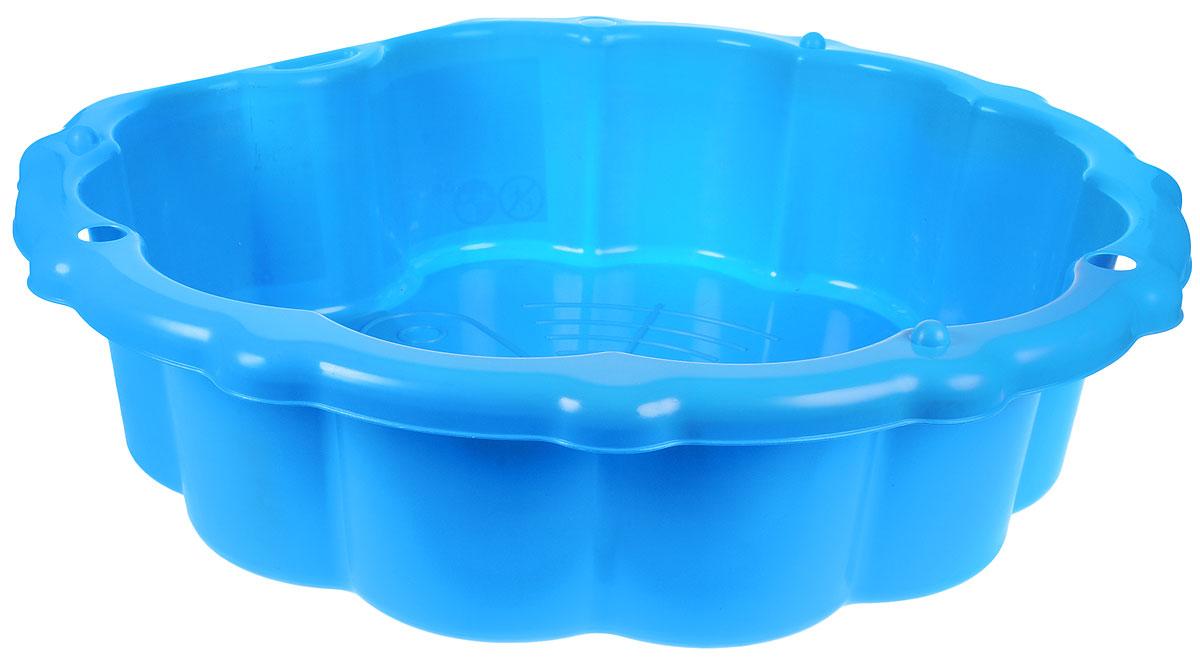 Mochtoys Песочница-бассейн с тентом цвет синий