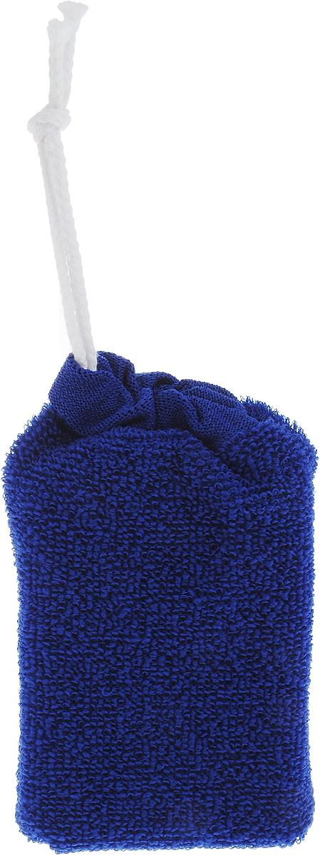 Riffi Губка для тела, цвет: темно-синийО63/02Губка Riffi прямоугольной формы позволяет удобно держать ее в руке. Чехол выполнен из материалов разной жесткости. Одной стороной делают интенсивный массаж, другой, более жесткой стороной, хорошо делать пилинг. Характеристики:Материал: текстиль, поролон. Размер губки: 13 см х 8 см х 5 см. Производитель: Германия. Артикул:747.