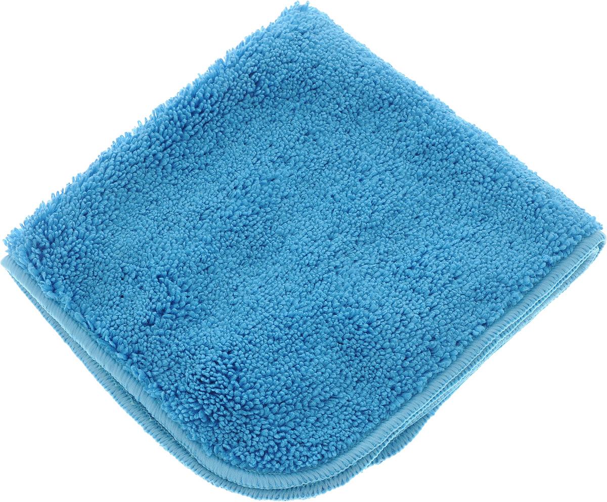 Салфетка для уборки Meule Premium, универсальная, цвет: синий, 30 х 30 см4607009241203_синийСалфетка Meule Premium выполнена из высококачественной микрофибры (80% полиэстер, 20% полиамид). У салфетки двусторонняя структура с хорошо выраженными ворсинками с одной стороны и удлиненным ворсом. Изделие может использоваться как для сухой, так и для влажной уборки. Деликатно очищает любые виды поверхности, не оставляет следов и разводов. Идеально впитывает влагу, удаляет загрязнения и пыль, а также подходит для протирки полированной мебели. Сохраняет свои свойства после стирки.Размер салфетки: 30 х 30 см.