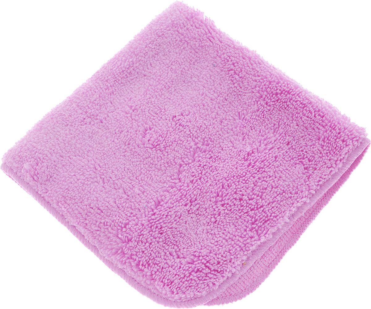Салфетка для уборки Meule Premium, универсальная, цвет: сиреневый, 30 х 30 см4607009241203_сиреневыйСалфетка Meule Premium выполнена из высококачественной микрофибры (80% полиэстер, 20% полиамид). У салфетки двусторонняя структура с хорошо выраженными ворсинками с одной стороны и удлиненным ворсом. Изделие может использоваться как для сухой, так и для влажной уборки. Деликатно очищает любые виды поверхности, не оставляет следов и разводов. Идеально впитывает влагу, удаляет загрязнения и пыль, а также подходит для протирки полированной мебели. Сохраняет свои свойства после стирки.Размер салфетки: 30 х 30 см.