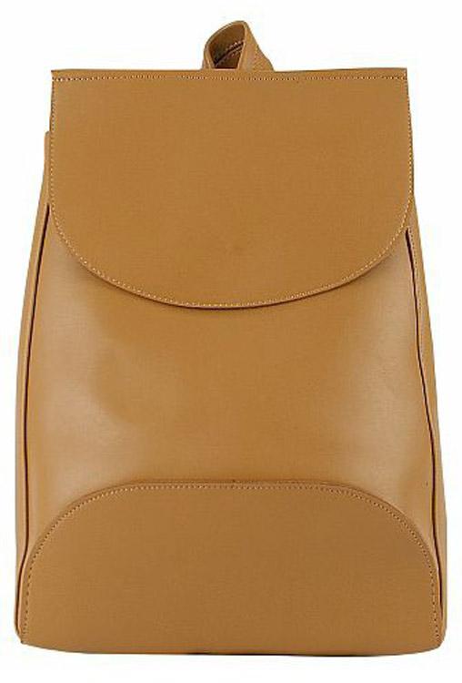 Рюкзак женский Kawaii Factory Minimal, цвет: светло-коричневый. KW102-000294L39845800Рюкзак из коллекции Minimal в медовом цвете с 1 внутренним карманом - это простая и удобная вещь, которую трудно чем-либо заменить. Повседневный рюкзак это тот предмет гардероба, без которого тяжеловато обойтись. Простой базовый рюкзак непростой формы из качественной и нежной на ощупь экокожи будет служить вам верой и правдой не только в повседневных делах, но и во всех самых увлекательных приключениях. Закрывается на застежку на магнитной кнопке. Размер: 37 x 27 x 8 см.