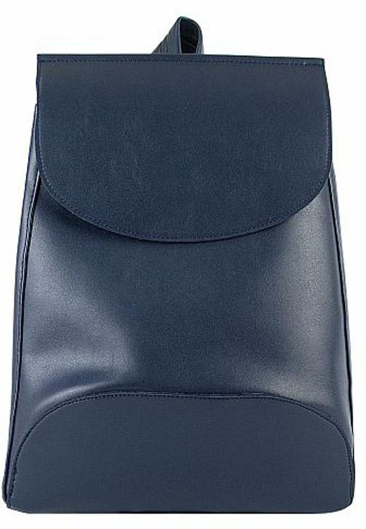 Рюкзак женский Kawaii Factory Minimal, цвет: темно-синий. KW102-00028823008Рюкзак Minimal с 1 внутренним карманом - это простая и удобная вещь, которую трудно чем-либо заменить. Повседневный рюкзак - это тот предмет гардероба, без которого тяжеловато обойтись. Простой базовый рюкзак непростой формы из качественной и нежной на ощупь экокожи будет служить вам верой и правдой не только в повседневных делах, но и во всех самых увлекательных приключениях. Закрывается на застежку на магнитной кнопке. Размер: 37 x 27 x 8 см.