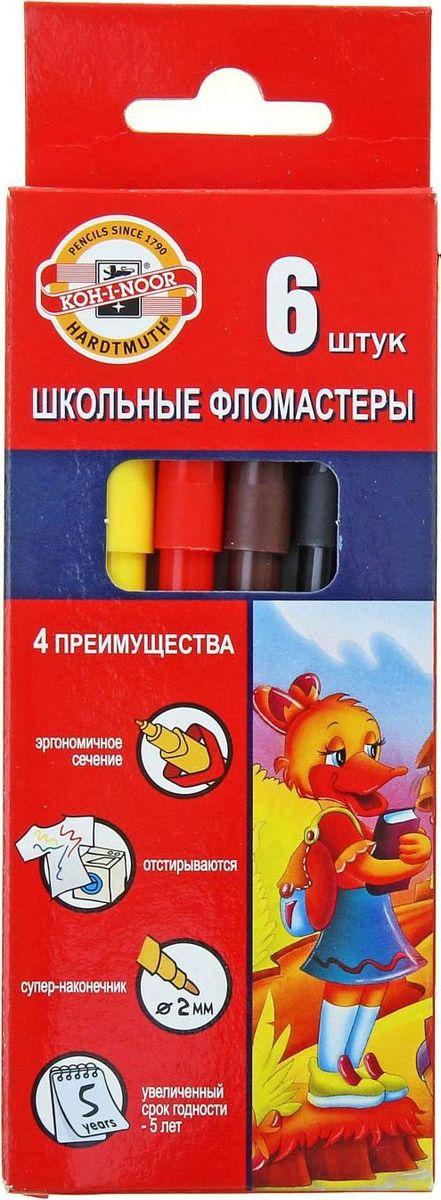 Koh-I-Noor Набор фломастеров Утята 6 цветов1161788