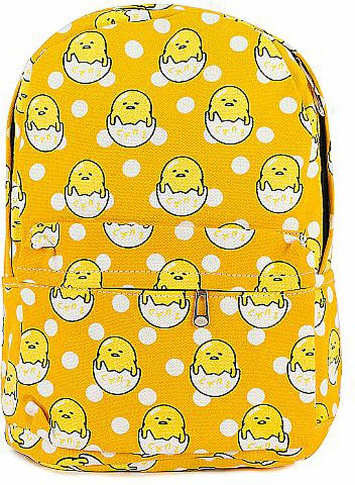 Рюкзак женский Kawaii Factory Цыплята, цвет: желтый. KW102-0003078-2С рюкзаком Kawaii Factory Цыплята не нужно бояться быть смешным, нужно бояться излишней своей серьезности.Всем нам надо иногда отдохнуть и подурачиться. Именно для таких дней и создан этот практичный рюкзак яркого цвета, моментально вызывающий улыбку.В составе рюкзака хлопок и полиэстер. Он имеет: 1 основное отделение, 3 внутренних кармана, 1 внешний карман, 2 боковых кармана. Закрывается на застежку-молнию. Лямки рюкзака регулируются.Размер: 40 х 28 х 12 см.