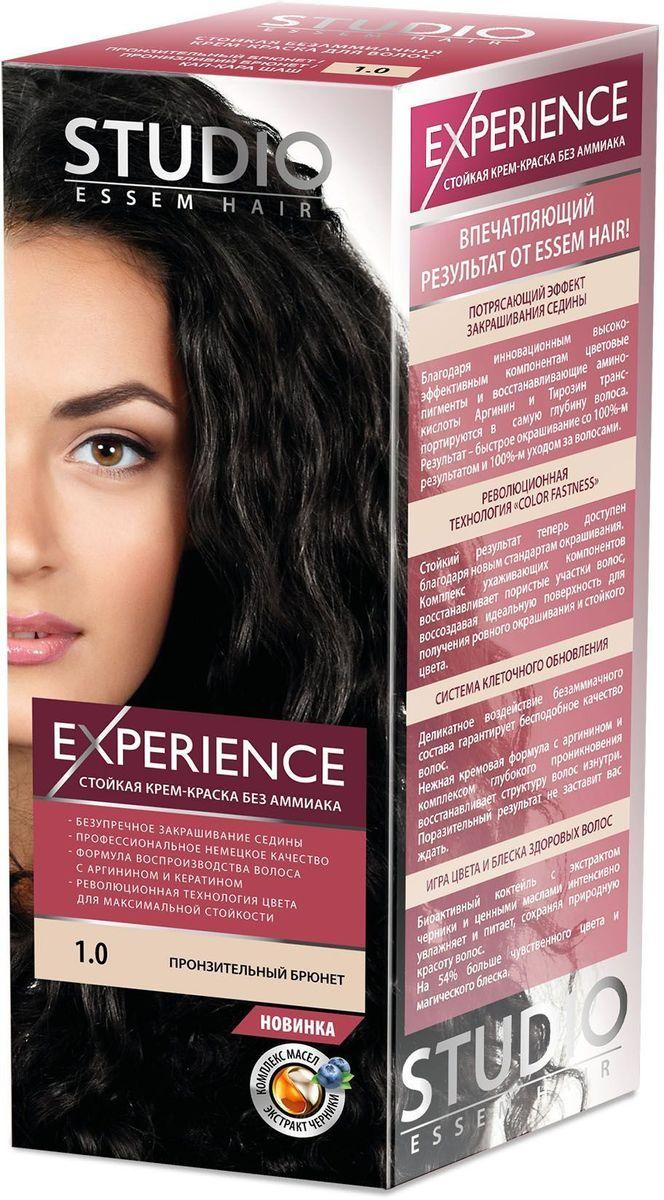Studio безаммиачная краска для волос 1.0 Пронзительный брюнет 40/60/15 млA9154600Пронзительный брюнет – загадочный оттенок, актуальный в любом сезоне! Невероятный блеск, стойкость цвета и максимальное закрашивание седины! Максимальное закрашивание седины.Деликатное воздействие безаммиачного состава гарантирует бесподобное качество волос.Нежная кремовая формула с аргинином и комплексом глубокого проникновения восстанавливает структуру волос изнутри.Светоотражающие частицы придают неповторимый блеск волосам.Биоактивный коктейль с ценными маслами авокадо, льна, оливы, и карите восстанавливают, питают и насыщают волосы витаминами.Кремовая текстура легко распределяется и не течет.Молекулы гидролизованного кератина делают волосы потрясающе крепкими и здоровыми.Система AQUA therapy с мощным компонентом нового поколения Cutina Shine поддерживает водный баланс волос от корней до кончиков.