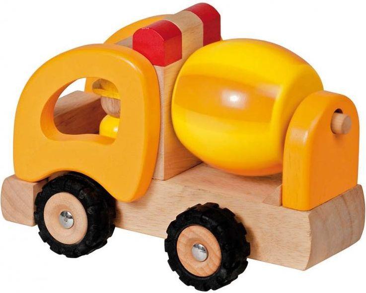 Goki Машинка деревянная Бетономешалка - Транспорт, машинки