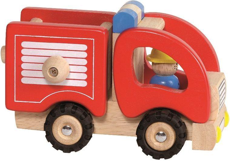 Goki Машинка деревянная Пожарная - Транспорт, машинки