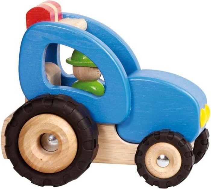 Goki Машинка деревянная Трактор - Транспорт, машинки