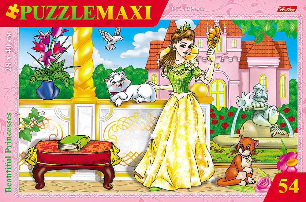Hatber Пазл для малышей Принцесса фабрика мастер игрушек пазл для малышей принцесса