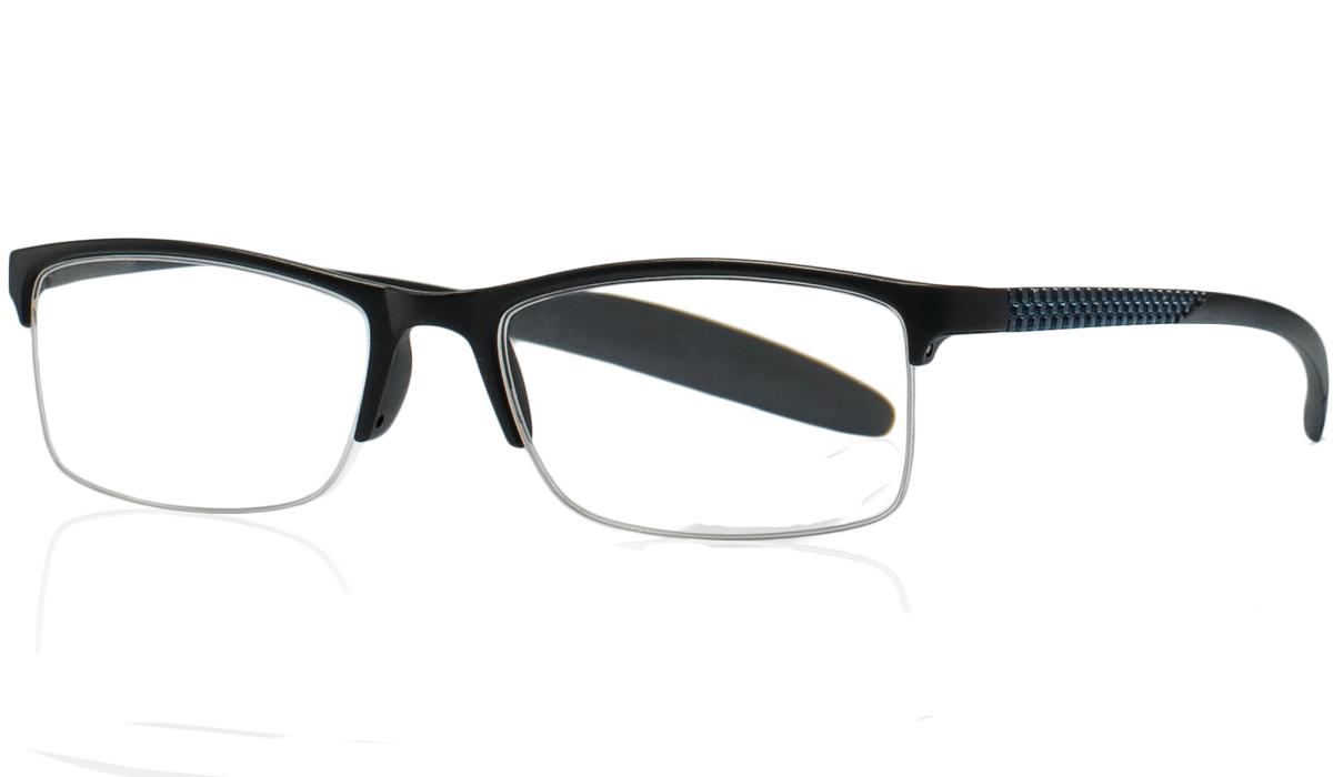Kemner Optics Очки для чтения +2,5, цвет: черныйБУ-00000316Готовые очки для чтения - это очки с плюсовыми диоптриями, предназначенные для комфортного чтения для людей с пониженной эластичностью хрусталика. Компания Kemner Optics уже больше 20 лет поставляет готовую оптику на европейский рынок. Надежность и качество очков Kemner Optics проверено годами.