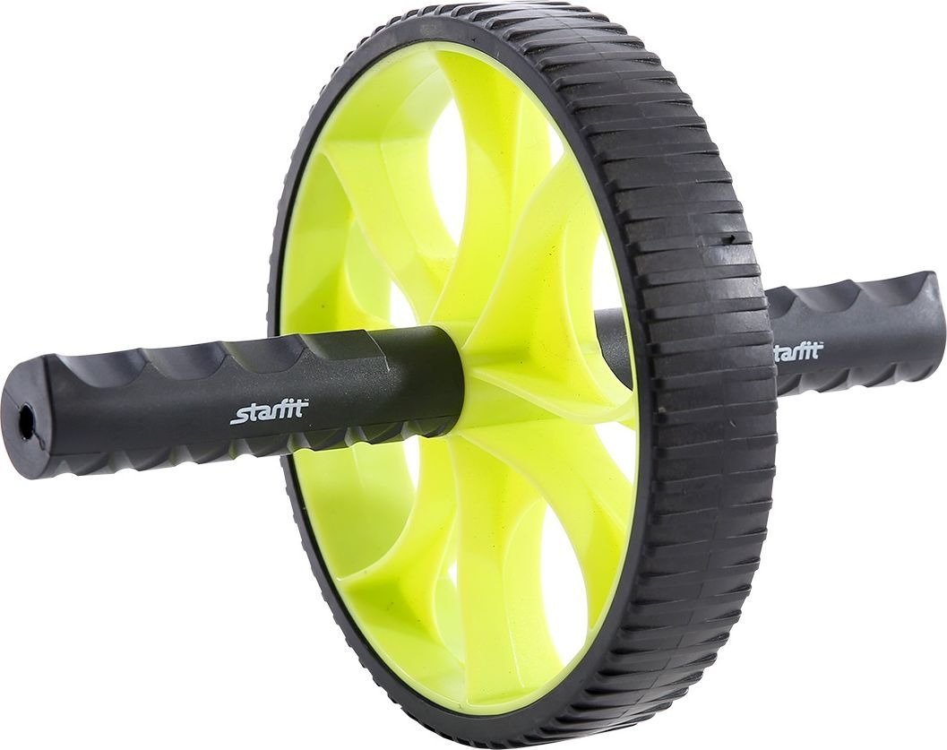 Ролик для пресса Starfit RL-103, цвет: зеленый, черныйSF 0085Ролик для пресса Starfit - фитнес-снаряд для комплексного укрепления мышц кора и брюшного пресса. Прочные ручки эргономичной формы обеспечивают наилучший захват. Твердое пластиковое покрытие роликового колеса устойчиво к истиранию при интенсивных тренировках. Яркий дизайн привлечет внимание как женской, так и мужской аудитории. Внутренний диаметр: 15,6 см.Внешний диаметр: 17,5 см.Ширина колеса: 3,3 см.Длина ручки: 10,5 см.Диаметр ручки: 2,5 см.Максимальная нагрузка: 200 кг.