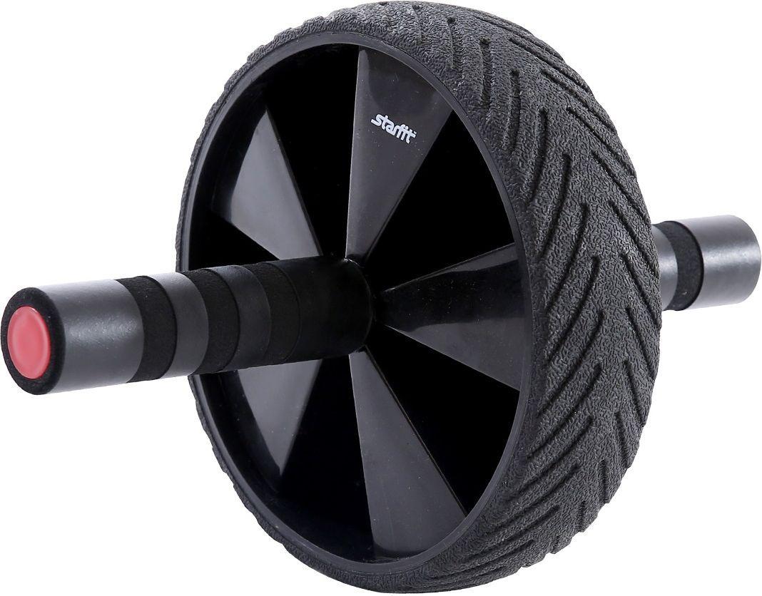 Ролик для пресса Starfit RL-104, цвет: черный, красныйУТ-00009812Ролик для пресса Starfit - фитнес-снаряд для комплексного укрепления мышц кора и брюшного пресса. Крепкие ручки с мягкими вставками предотвращают образование мозолей. Твердое упругое покрытие роликового колеса повышает сцепление с поверхностью. Модель выполнена в стильном дизайне. Внутренний диаметр: 17 см.Внешний диаметр: 18,1 см.Ширина колеса: 5,1 см.Длина ручки: 11,8 см.Диаметр ручки: 3 см.Максимальная нагрузка: 200 кг.