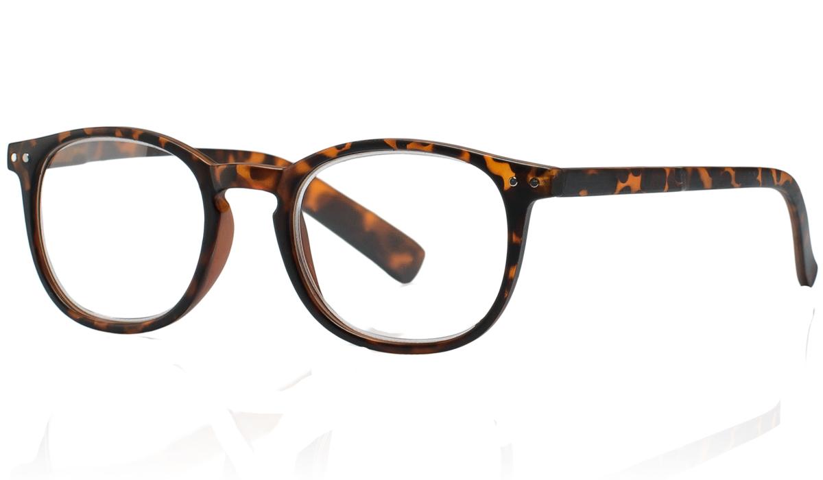 Kemner Optics Очки для чтения +2,5, цвет: коричневый64614Готовые очки для чтения - это очки с плюсовыми диоптриями, предназначенные для комфортного чтения для людей с пониженной эластичностью хрусталика. Компания Kemner Optics уже больше 20 лет поставляет готовую оптику на европейский рынок. Надежность и качество очков Kemner Optics проверено годами.