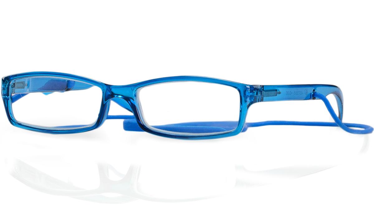 Kemner Optics Очки для чтения +2,0, цвет: синий60798Готовые очки для чтения - это очки с плюсовыми диоптриями, предназначенные для комфортного чтения для людей с пониженной эластичностью хрусталика. Компания Kemner Optics уже больше 20 лет поставляет готовую оптику на европейский рынок. Надежность и качество очков Kemner Optics проверено годами.