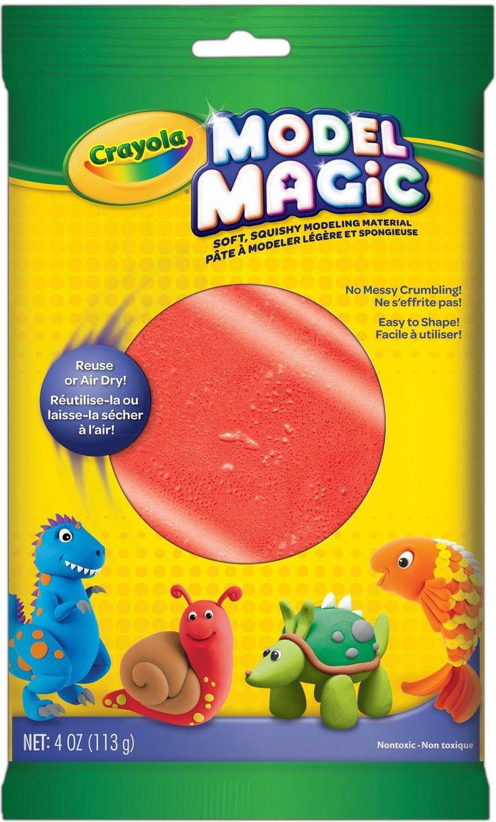 Crayola Застывающий пластилин цвет красный 113 г72523WDВолшебный застывающий пластилин Crayola красного цвета в яркой прямоугольной упаковке - это то, чего не хватает вашему ребенку для создания красивой поделки.Волшебные свойство пластилина заключаются в его способности прекрасно лепиться, не прилипая к рукам, а также в восхитительном запахе, который от него исходит.