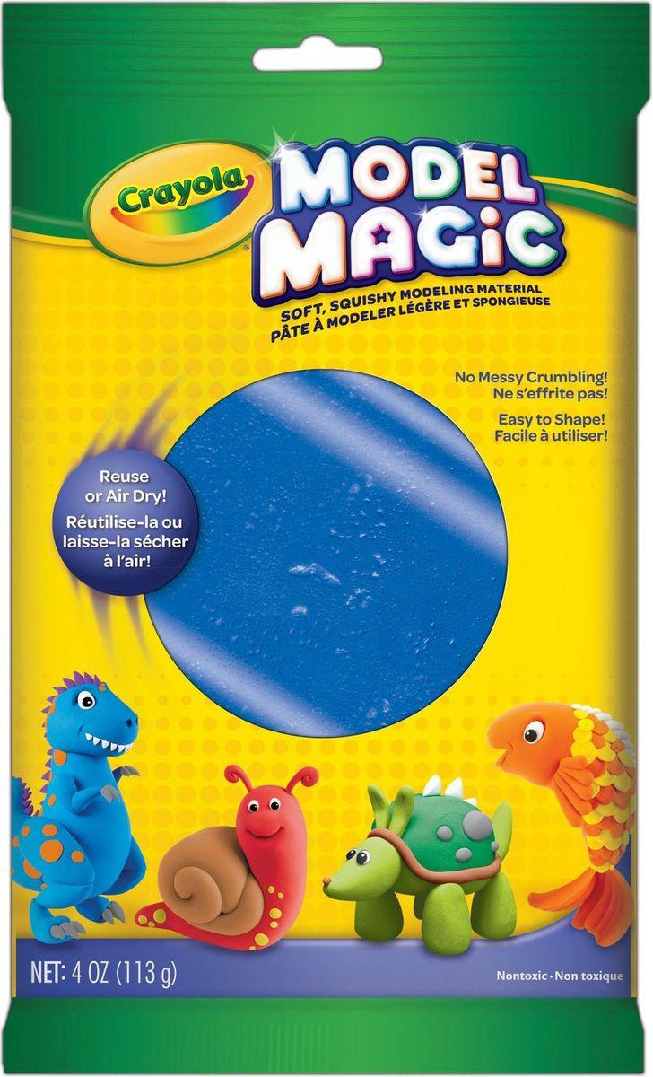 Crayola Застывающий пластилин цвет синий 113 г72523WDВолшебный застывающий пластилин Crayola синего цвета - это пластилин с ярким насыщенным цветом, который обладает уникальным свойством - не прилипать к рукам и прекрасно лепиться.Вашему малышу уже исполнилось четыре года? Тогда спешите порадовать его таким подарком. Пластилин с приятным запахом подарит малышу огромное количество положительных эмоций.Синий пластилин поможет ему слепить облачко, цветочек или даже тролля, который напомнит ему о популярном мультфильме. Развивая мелкую моторику рук и создавая свой собственный шедевр, малыш с пользой проведет свое время.