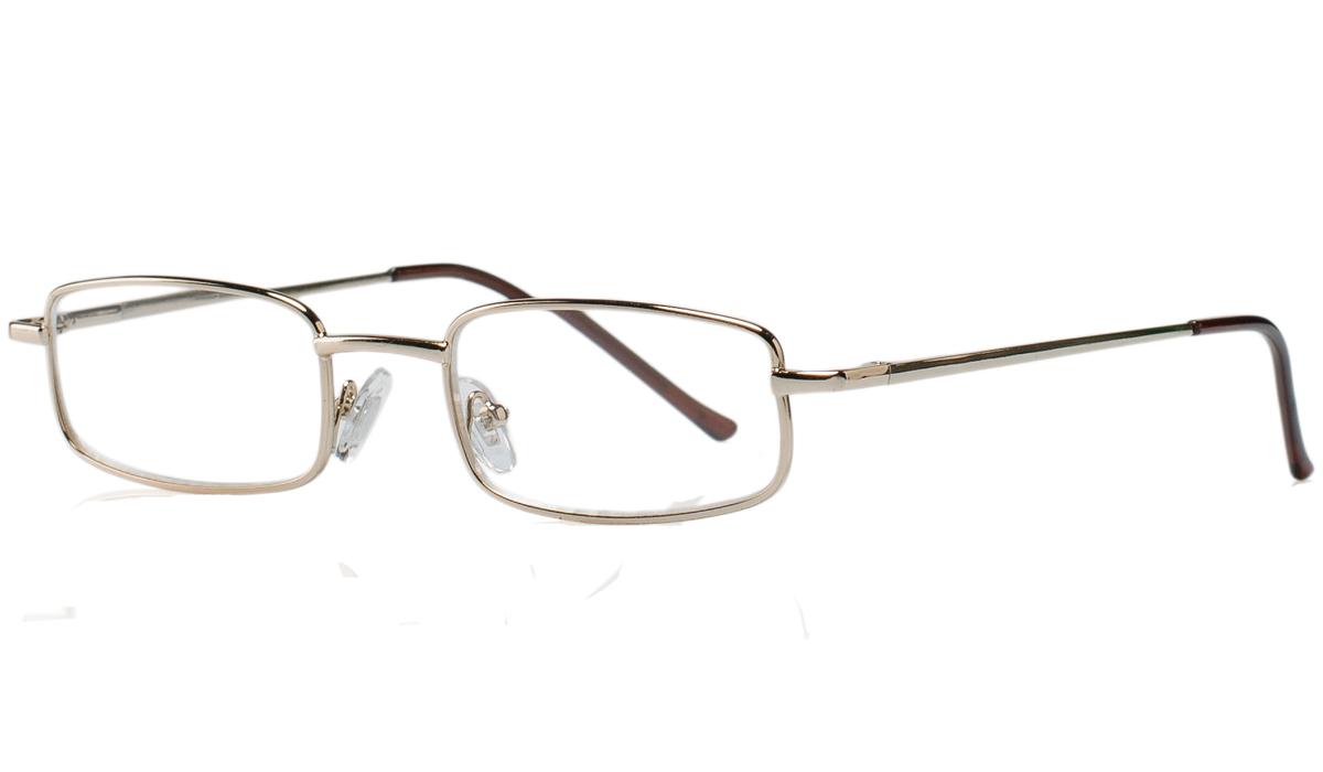 Kemner Optics Очки для чтения +1,5, цвет: золотойБУ-00000316Готовые очки для чтения - это очки с плюсовыми диоптриями, предназначенные для комфортного чтения для людей с пониженной эластичностью хрусталика. Компания Kemner Optics уже больше 20 лет поставляет готовую оптику на европейский рынок. Надежность и качество очков Kemner Optics проверено годами.