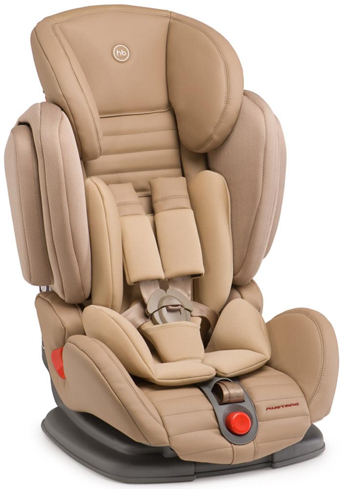 Happy Baby Автокресло Mustang 9-36 кг4690624016707Mustang - автомобильное кресло группы I-II-III (для детей от 9 до 36 кг). Регулируемые по высоте пятиточечные ремни с мягкими накладками обеспечивают безопасность и комфорт малыша.Уникальность этого автокресла в том, что оно регулируется по ширине и ребенку будет в нем комфортно в любое время года. Защита от боковых ударов с регулируемым по высоте подголовником обеспечивает дополнительную безопасность. Кресло имеет четыре угла наклона спинки, оснащено удобным механизмом регулировки. Автокресло крепится в автомобиле с помощью штатных трехточечных ремней безопасности и устанавливается лицом по ходу движения автомобиля.