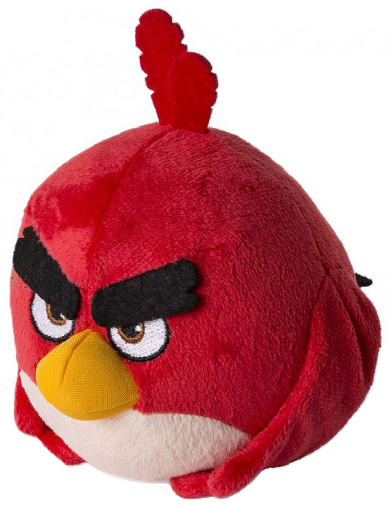 Angry Birds Мягкая игрушка Птица Red 13 см
