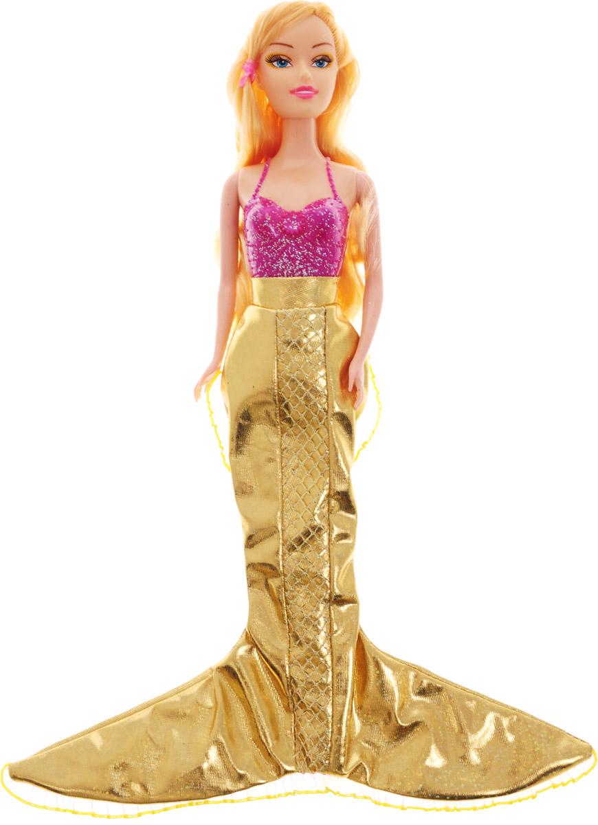 Veld-Co Кукла Русалка цвет плавника золотой