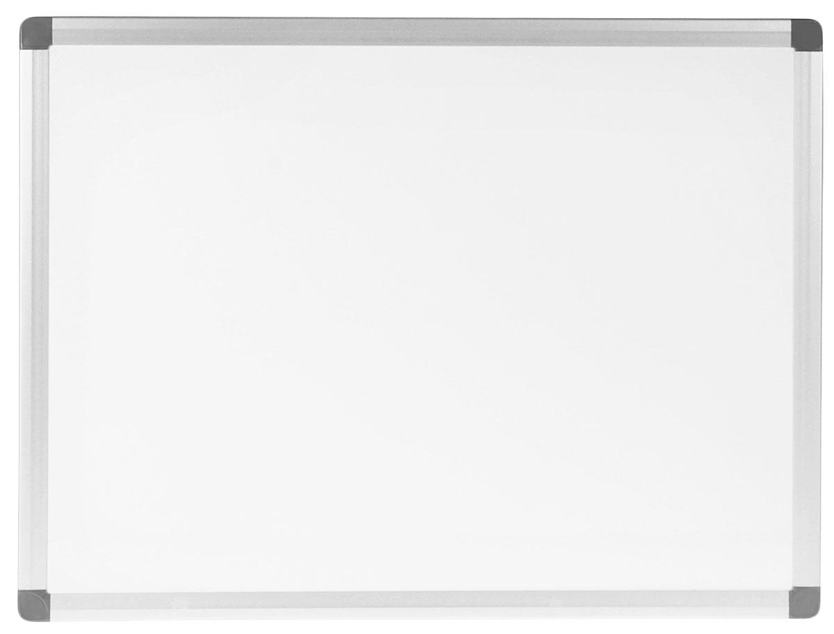 Index Доска магнитно-маркерная 45 см х 60 смFS-00897Белая магнитно-маркерная доска Index с улучшенной алюминиевой рамой будет незаменимым инструментом при проведении презентаций или обучающих занятий, а также удобное средство визуальной коммуникации для офиса. Информация размещается при помощи магнитов или маркеров, след от которых легко стирается даже сухой тряпкой. Эмаль - это очень прочное и стойкое к износу покрытие. Такое покрытие можно поцарапать только материалом тверже стекла. Доска окантована алюминиевой рамкой со скругленными пластиковыми углами.