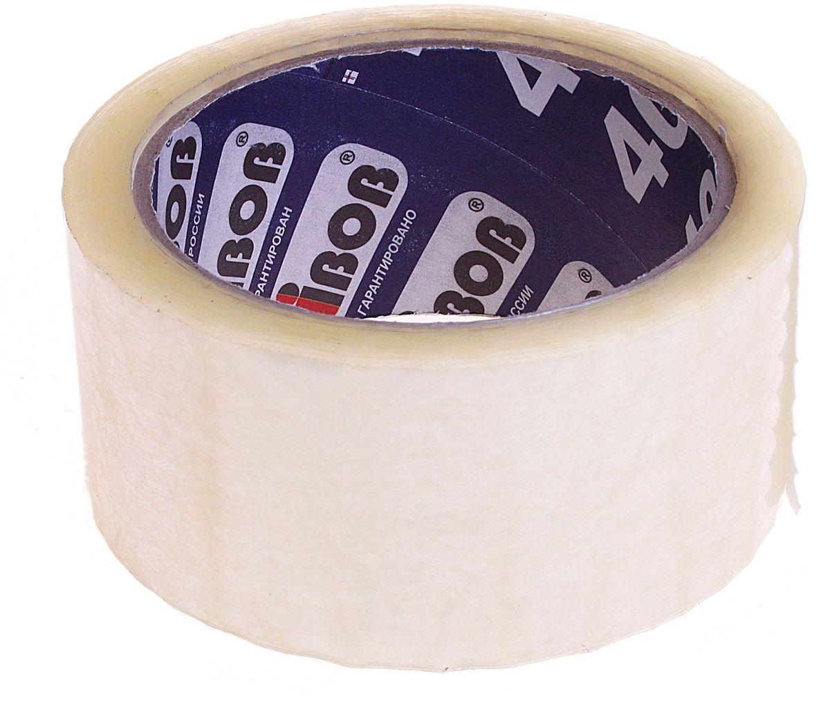Клейкая лента 48 мм х 66 м цвет прозрачный 584577FS-00101Клейкая лента на полипропиленовой основе это водонепроницаемое изделие, которое способно противостоять широкому диапазону температур. Применяется в быту для упаковки: легких и тяжелых коробок, изготовленных из гофрокартона, строительных смесей, масложировой продукции и мороженого, канцелярских товаров, промышленных товаров. Клейкая лента поможет скрепить предметы в любой ситуации, например, если вы делаете ремонт или меняете место жительства и пакуете коробки.