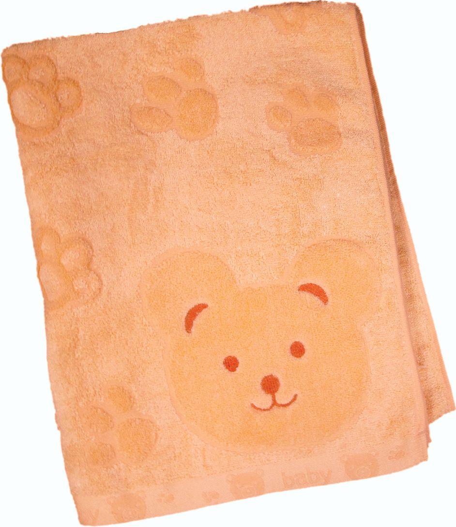 Полотенце махровое Bravo Счастливый медведь, цвет: желтый, 60 х 120 смS03301004Полотенце Счастливый медведь выполнено из натуральной махровой ткани (хлопок, бамбук). Изделие отлично впитывает влагу, быстро сохнет, сохраняет яркость цвета и не теряет форму даже после многократных стирок. Полотенце очень практично и неприхотливо в уходе. Оно создаст прекрасное настроение и украсит интерьер в ванной комнате.