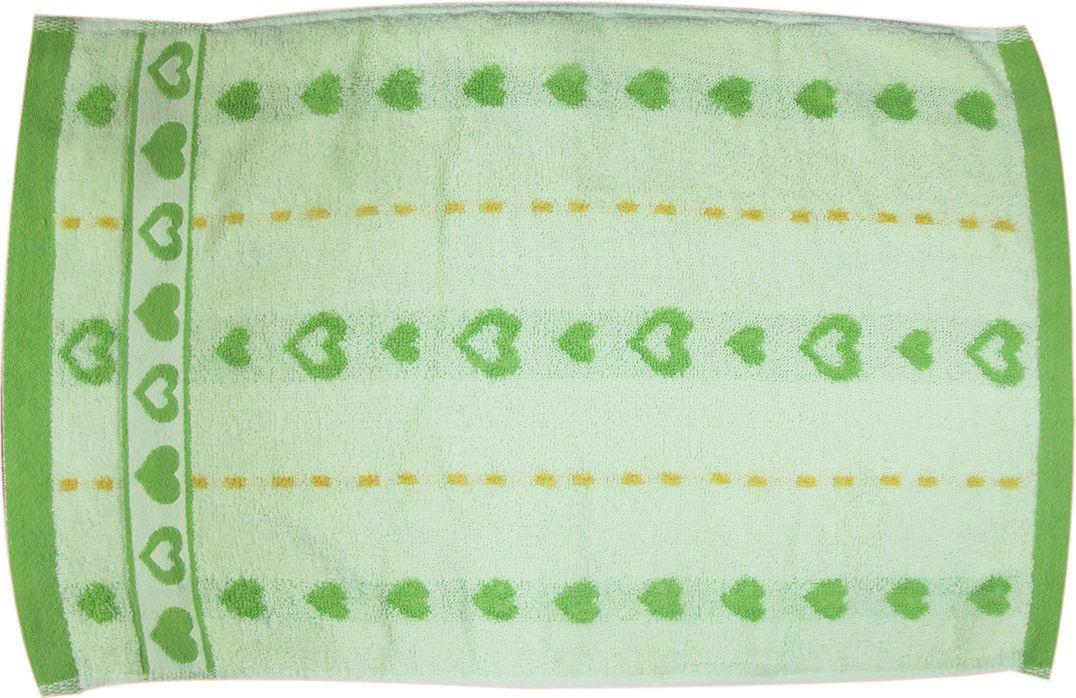 Полотенце махровое НВ Магнит, цвет: зеленый, 30 х 50 см. м0737_0385182