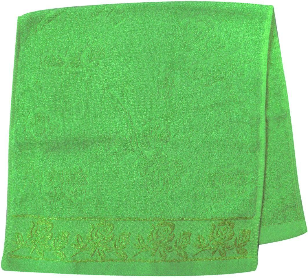 Полотенце махровое НВ Аваланж, цвет: зеленый, 33 х 70 см. м0746_0385591