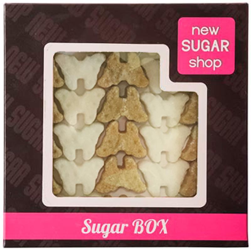 Sugar Box Бабочки фигурный сахар, 210 г0120710Производитель делает с любовью своими руками оригинальные формы для вашего стола, юбилея или в подарок. Порадуйте себя и своих близких оригинальными формами сахара. С фигурным сахаром ваше чаепитие будет неповторимым.