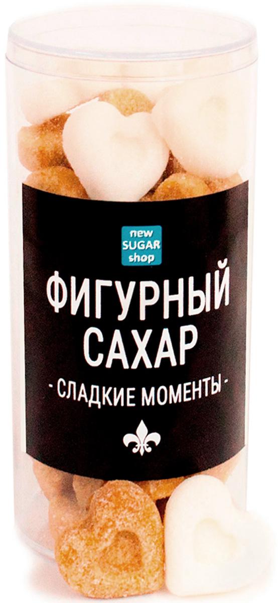 Сладкие моменты Сердечки фигурный сахар в тубе, 150 г