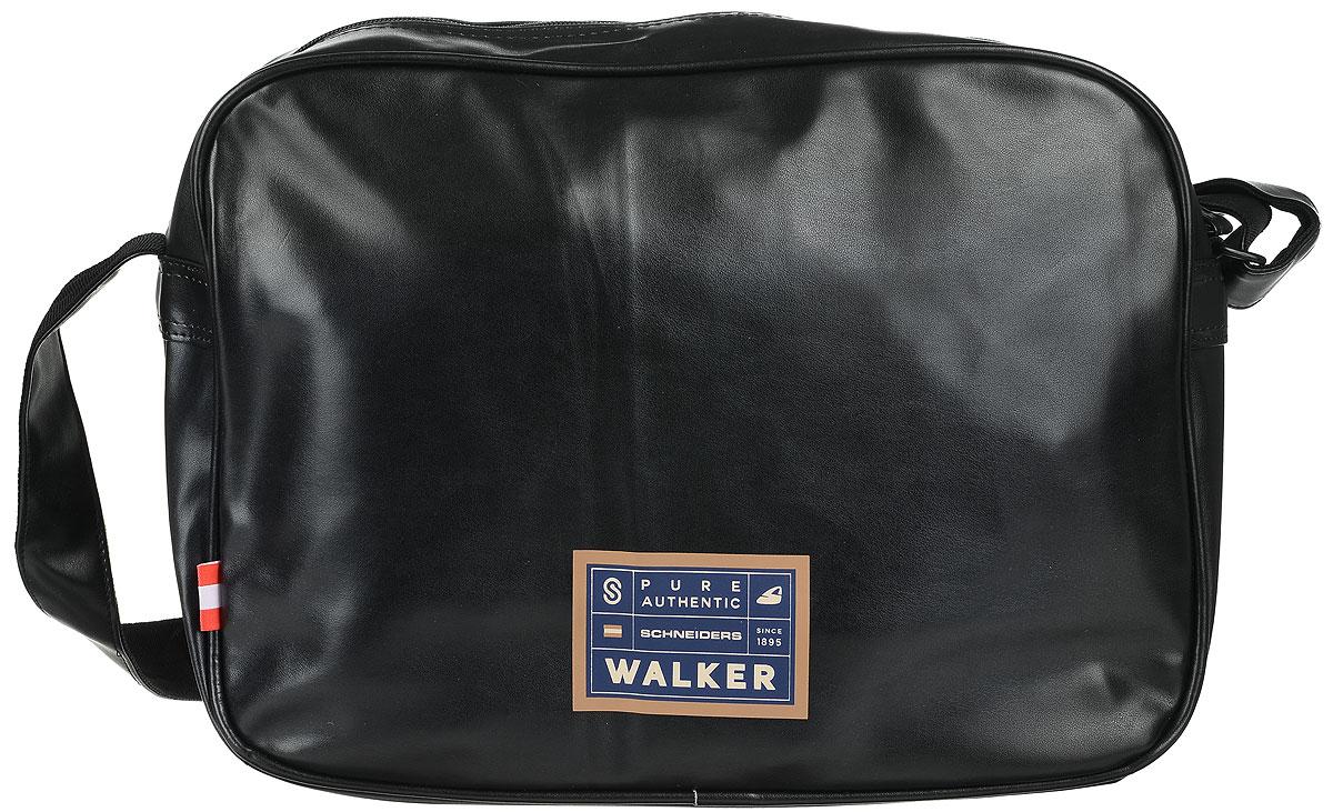 Walker Сумка школьная Square42676/51Прочная и вместительная школьная сумка Walker Square станет надежным спутником для школьников и студентов. Она выполнена из прочного износостойкого материала высокого качества и оформлена оригинальным принтом. Сумка имеет два отделения: внешнее и внутреннее, которые закрываются на застежки-молнии. Внутри главного отделения расположены два небольших кармашка для различных школьных принадлежностей. Сумка имеет наплечный ремень с регулирующейся лямкой.