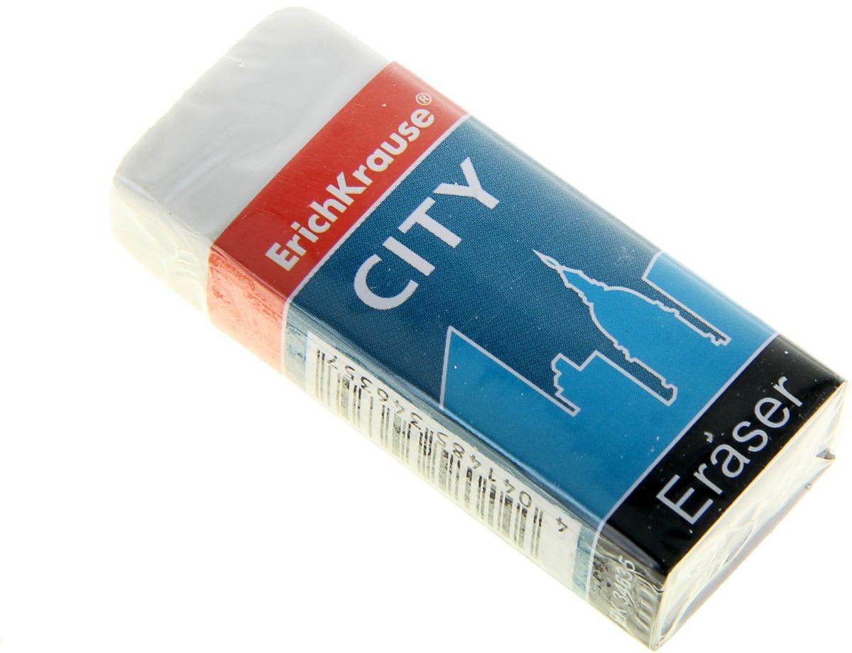 Erich Krause Ластик CityFS-36054Ластик особой мягкости. Предназначен для стирания рисунков и набросков, сделанных карандашами нормальной и высокой мягкости (HB-4B). Ластик продается в защитном картонном футляре для предотвращения загрязнения при работе.